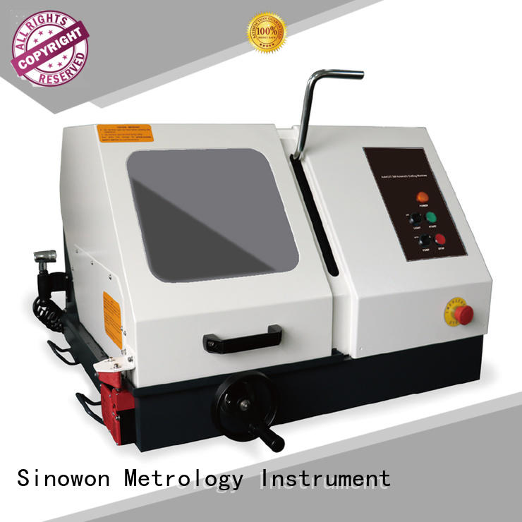 precise metallographic equipment design for aerospace