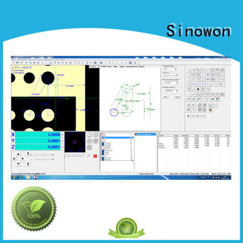 Sinowon excellent vision software factory for precision industry