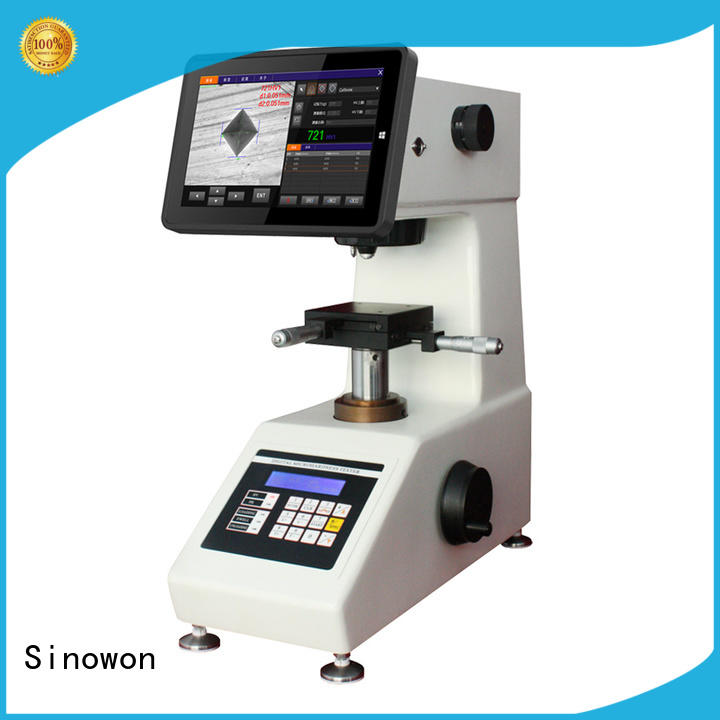 automatic microhardness test customized for measuring