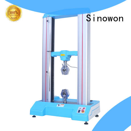 Sinowon tensile strength testing machine customized for commercial
