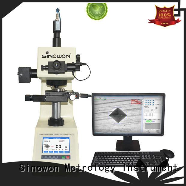 fabrication measurement monitor Sinowon Brand micro vickers hardness tester