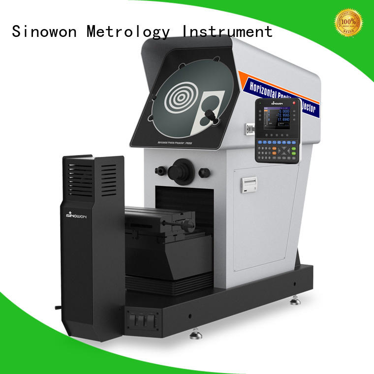 Sinowon reliable profile projector least count customized for precision industry