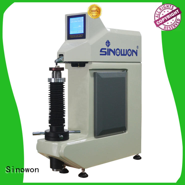 Sinowon rockwell hardness testing machine customized for small parts