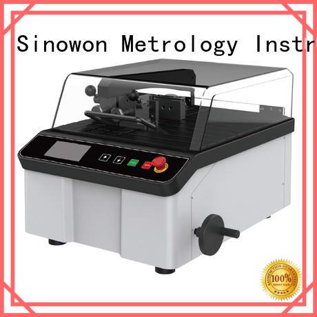 Sinowon elegant metallographic equipment design for electronic industry
