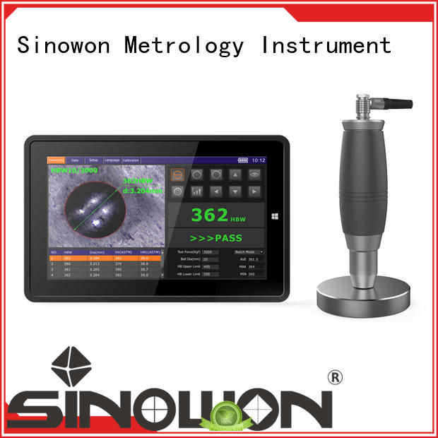 Sinowon brinell hardness unit manufacturer for cast iron