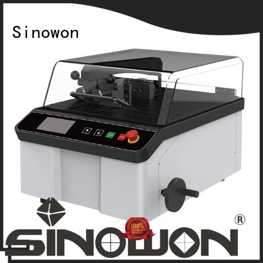 Sinowon precise metallographic equipment factory for medical devices