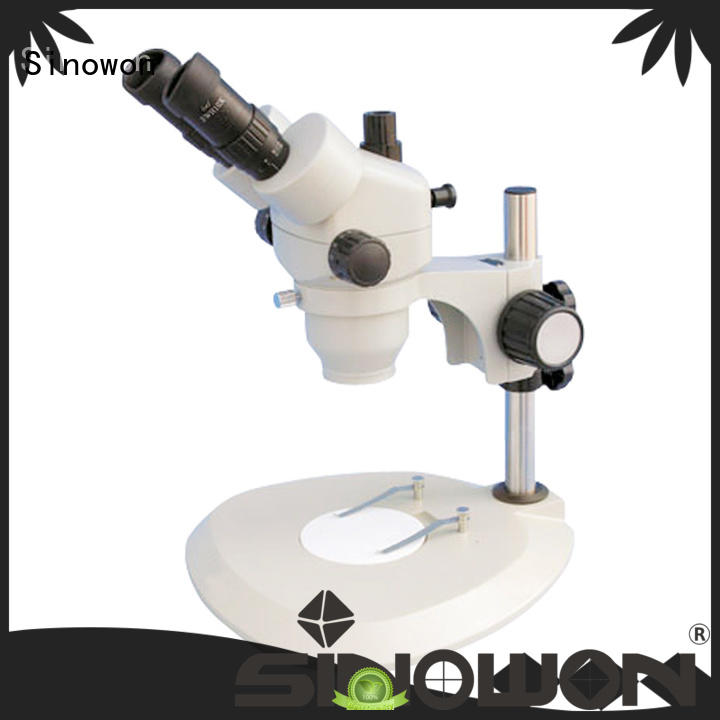 stereoscopic microscope factory price for precision industry Sinowon