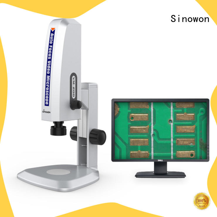 sturdy Video Microscope factory price for cast iron