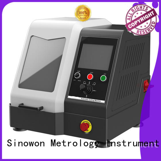 Sinowon efficient metallographic equipment factory for LCD