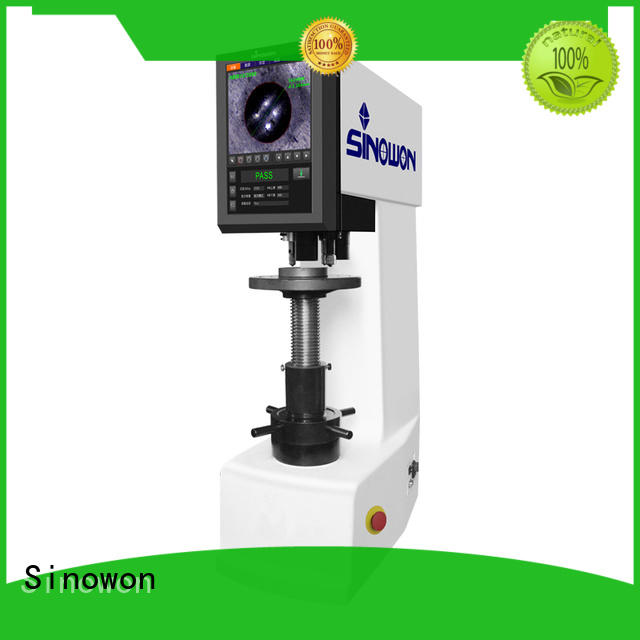 Sinowon quality brinell hardness tester from China for cast iron