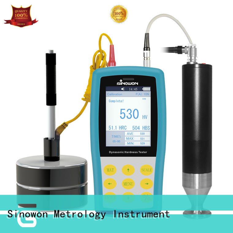 Sinowon stable ultrasonic portable hardness tester supplier for rod
