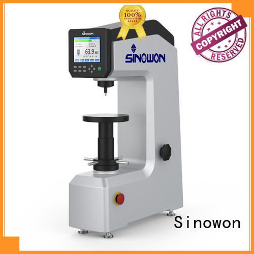 Sinowon digital superficial hardness tester manufacturer for measuring