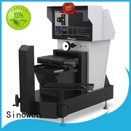 optic surface illumination optimum performance standard workstage fully retractable Sinowon Brand visual measurement supplier