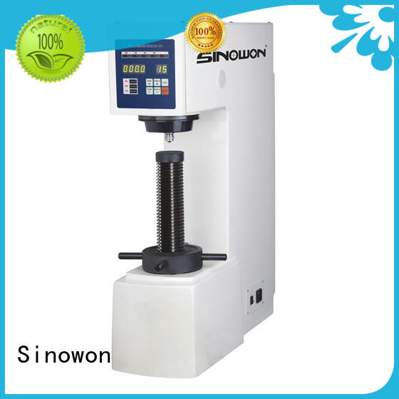 Sinowon Brand digital measurement system color touch screen optical brinell hardness test