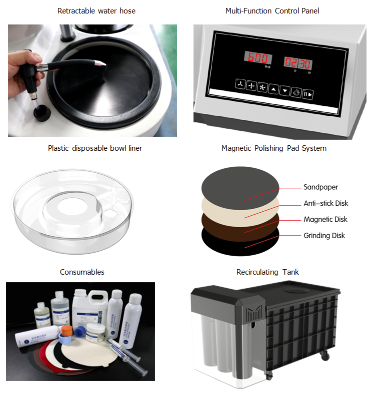 elegant polishing equipment with good price for electronic industry-2
