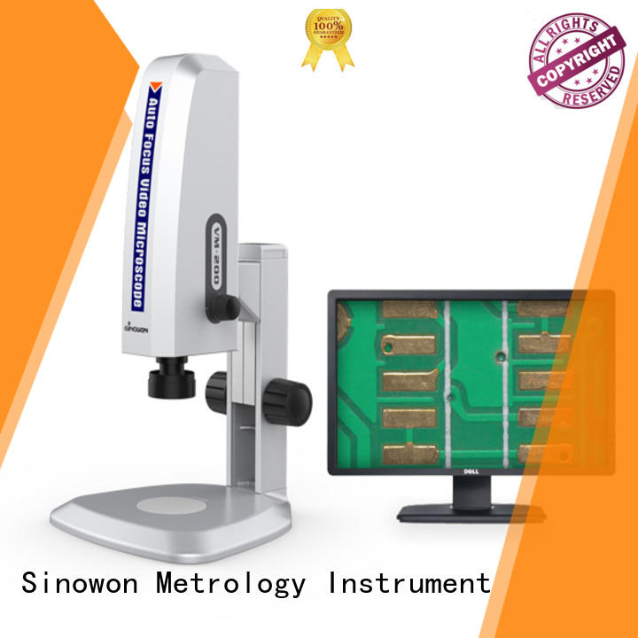 vm100 digital binocular microscope personalized for steel products Sinowon