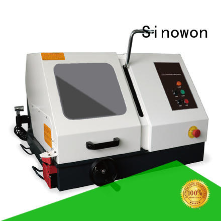 Sinowon elegant metallographic polishing factory for LCD